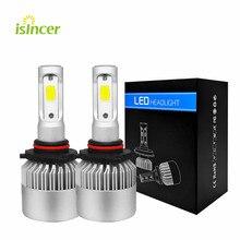 Kit dampoules pour phares de voiture, pour phares antibrouillards, LED W, 16 000lm H1 H13 Led 110 9005 9006 K 12V 9007, G5 6500 H4 H7 H11 COB LED