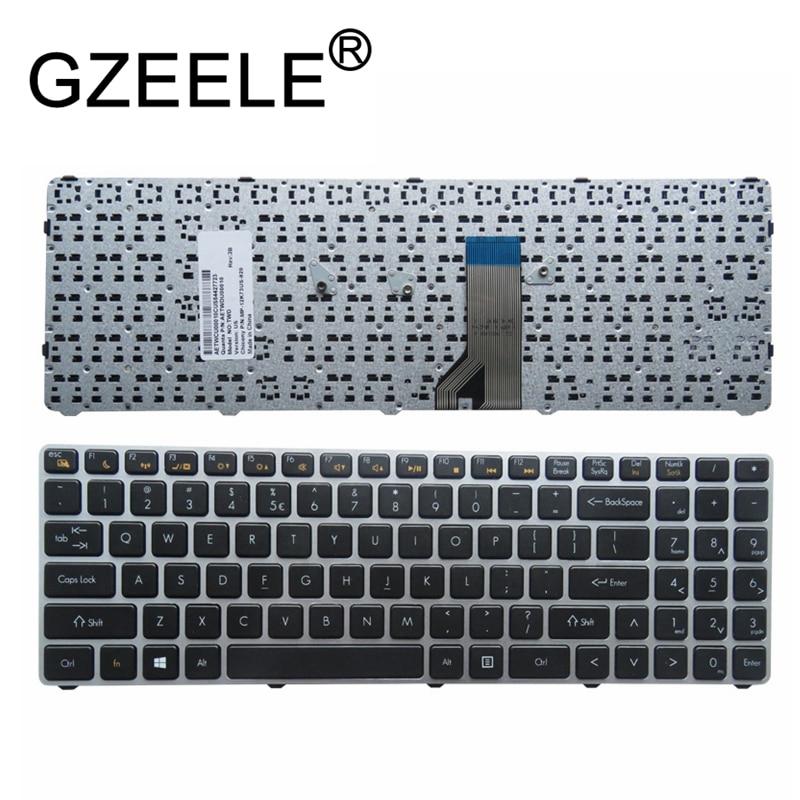 GZEELE New English Laptop Keyboard For Quanta TWD TWS English US MP-12K73US-920 AETWDU00010 MP-12K76GB-920 replace