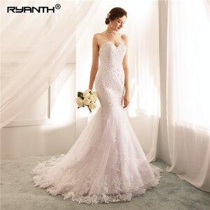 Robe De Mariage Sexy off The Shoulder Sweetheart Lace Mermaid Wedding Dresses 2019 Bridal Gowns Custom Made Vestido De Noiva