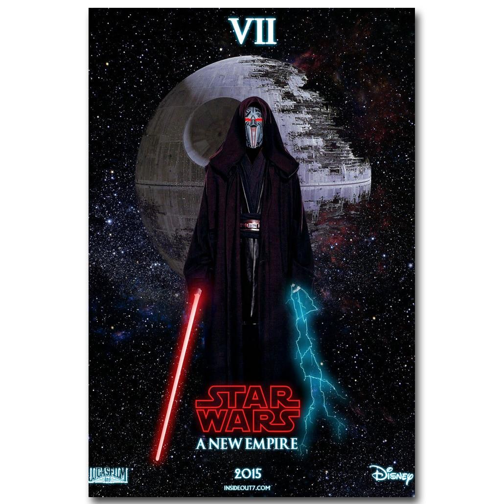 Kylo Ren-Star Wars la fuerza despierta arte de la Seda póster de tela de impresión 13x20 24x36 pulgadas película foto para pared de habitación decoración 043