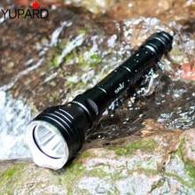 yupard diver diving 100m depth Underwater Flashlight Waterproof bright Torch XM-L2 LED T6 white lantern yellow light Lamp 18650