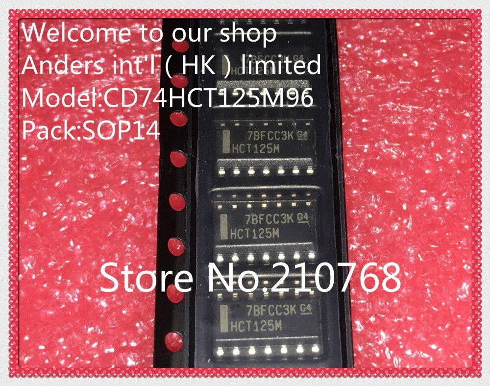 10 pçs/lote CD74HCT125M96 CD74HCT125M HCT125M IC BUFF/DVR TRI-ST 14 QD 14SOIC