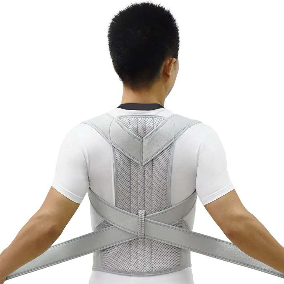 Корректор Осанки Спины, регулируемый для женщин и мужчин, улучшает внешнюю часть спины, облегчает боль в верхней части спины