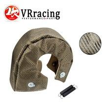 VR - 100% couverture de protection thermique turbo entièrement titane T4 turbo couverture ajustement: t4,gt40,gt42 ,gt55,t6,t66 turbo chargeur VR1304