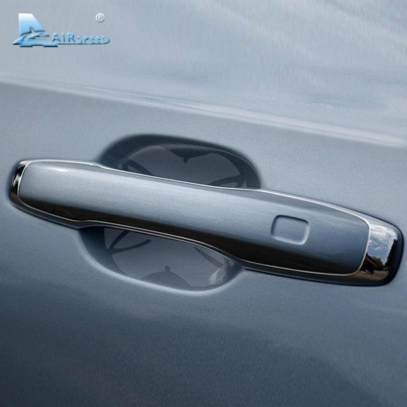 Película protectora para manija de puerta de coche Airspeed para Volvo XC60 S60 (L) V60 S80 (L) V40 XC90 S90 V90CC, accesorios para coche resistentes a arañazos