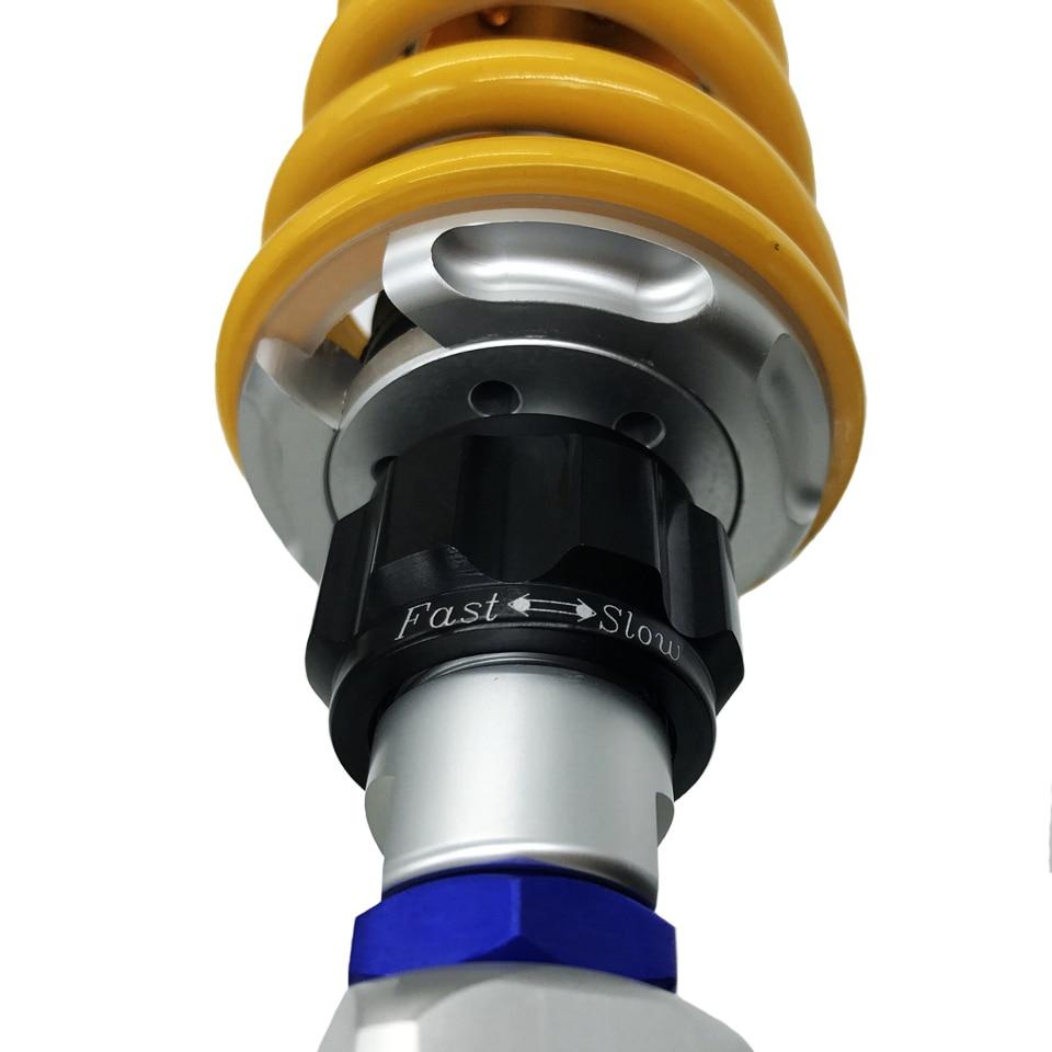 1pcs Universal 320mm/340mm/360mm motorcycle Rear Adjust damping shock absorber For Honda Yamaha Kawasaki Suzuki Rear suspension