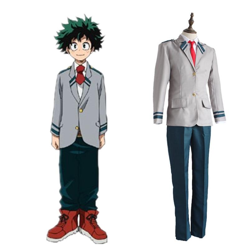 Boku no hero academia disfraz cosplay Japón Anime My Hero Academia Tsuyu uniforme escolar ochako uraraka vestido regalo de Halloween