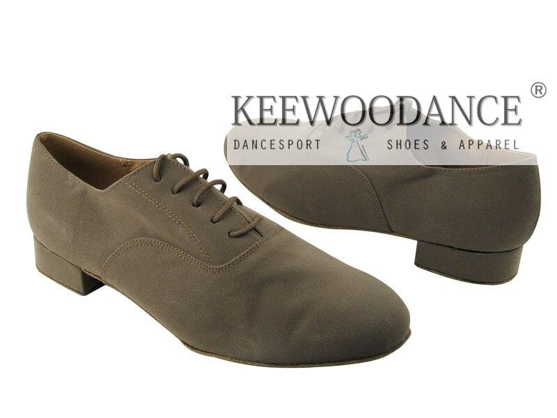 Zapatos de baile latino NEW Flesh Tan nubuck, buena calidad, swing tango, zapatos de fiesta, zapatos de boda para exteriores e interiores