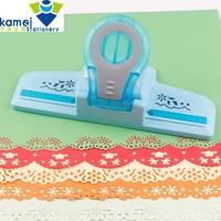 Large Fancy border embossing punch scrapbooking handmade edge device DIY paper cutter Craft gift perforadora de papel YH30
