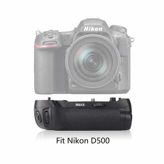 Original marca Meike MK-D500 disparo de Empuñadura de batería vertical para cámara Nikon D500 reemplazo de MB-D17 como para Pixel Vertax D17
