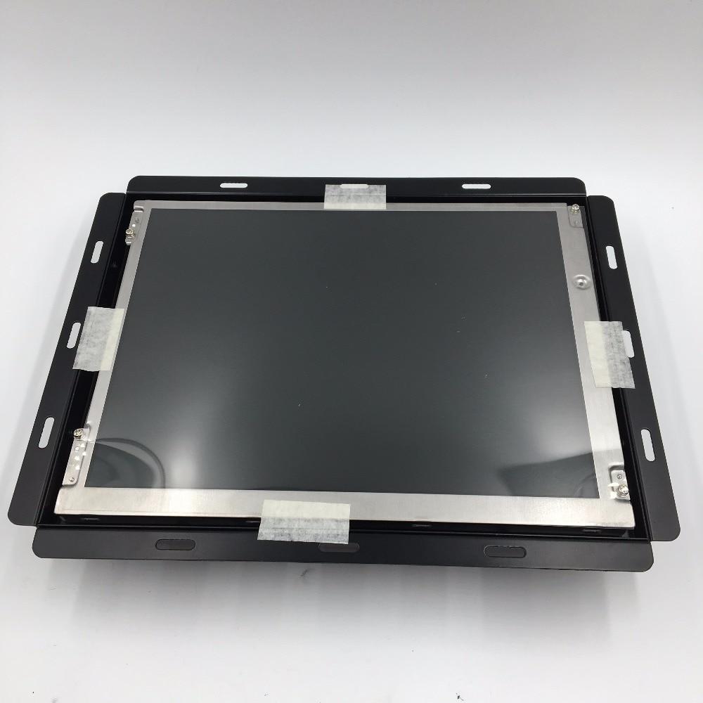 HAAS VF2 VF3 28HM-NM4 9 Pin display LCD compatível 12 polegada para a máquina CNC substitua monitor CRT, TEMOS EM ESTOQUE