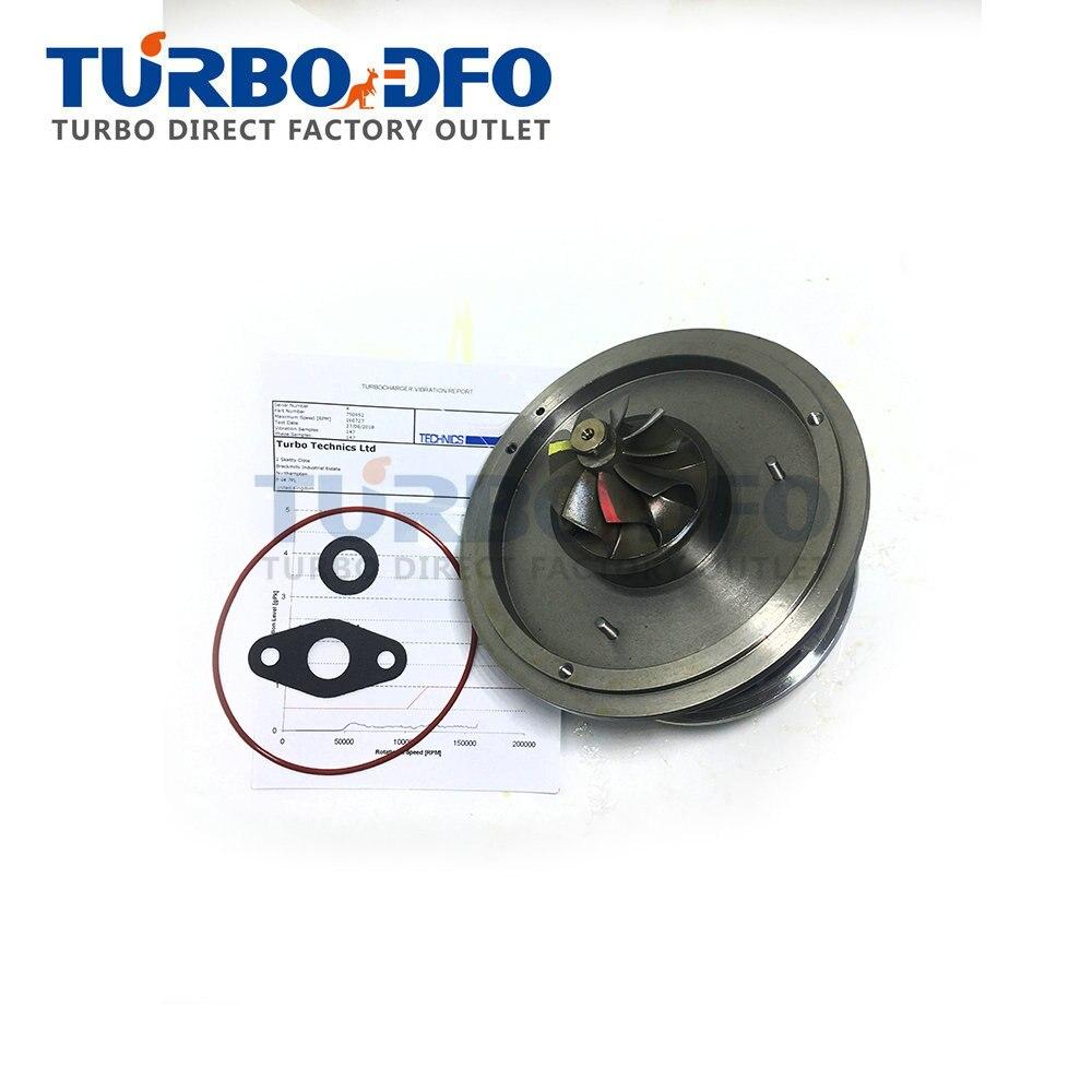 Para BMW 120D E87 120Kw 163HP 2.0D M46TU 2005-core 750952 cartucho carregador turbo CHRA 750952-0013/14 turbina kit de reparação 7793865