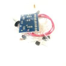 10 pcs/lot lampes à LED à commande vocale mélodie intéressante suite de production électronique de kit de bricolage