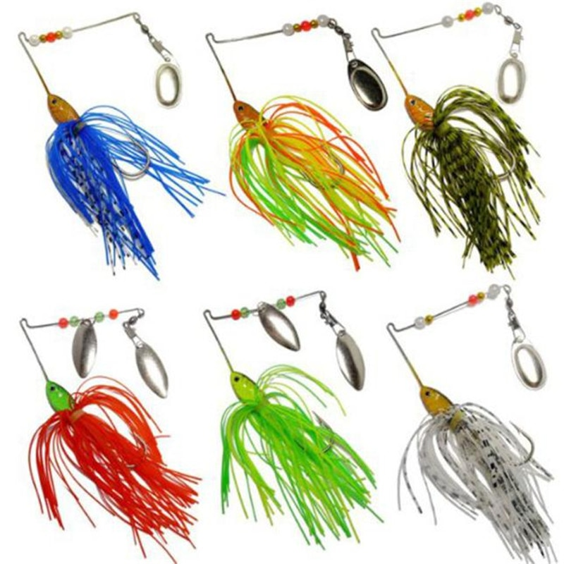 6 uds. De señuelos giratorios duros para pesca, lubina, lubina, como acciones de natación, pesca en agua, Wobbler, pesca realista C3