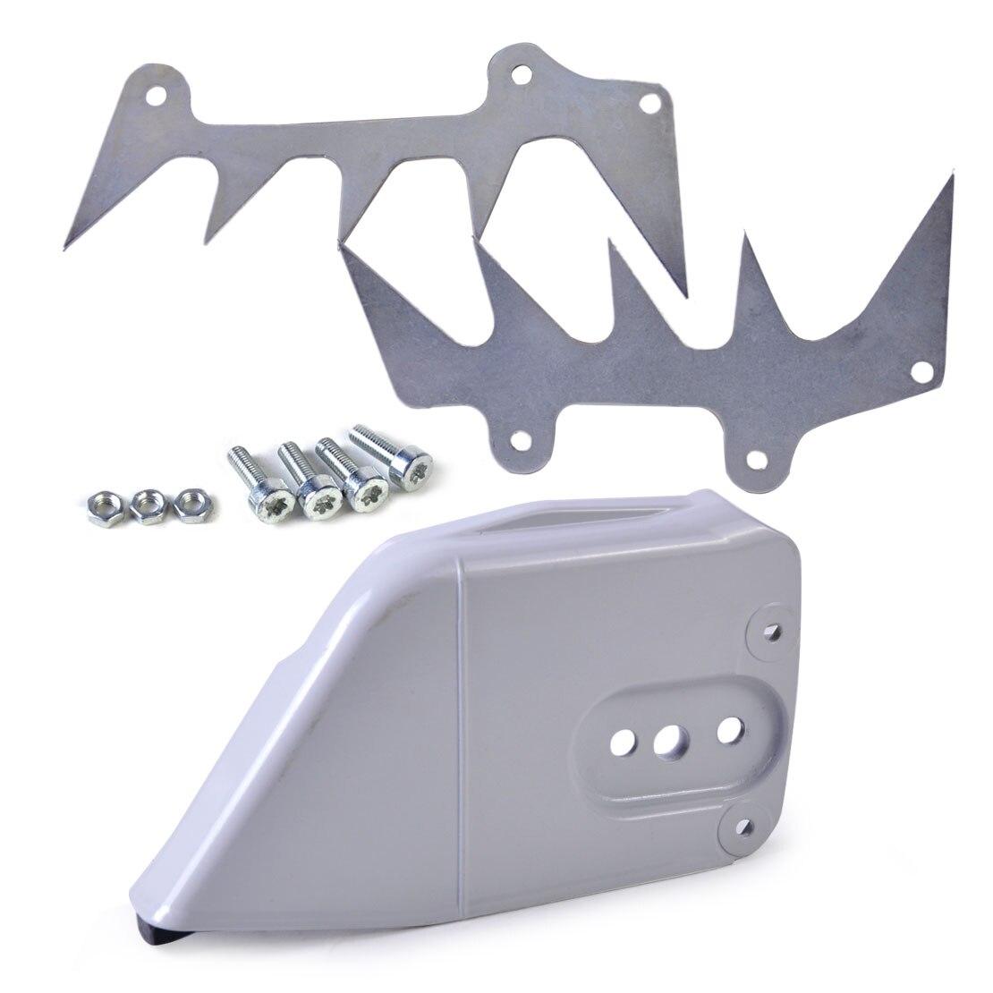 LETAOSK cadena embrague de piñones cubierta parachoques Spike garra tope apto para Stihl 044 046 064 066 MS440 MS460 MS650 MS660