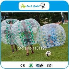 10 sztuk + 2 dmuchawy, bańka piłka nożna dla branży wynajmu, gry i zabawy sportowe, 1,5 M ciała Zorb, nadmuchiwane ludzkiego chomika piłkę, Loopy Ball