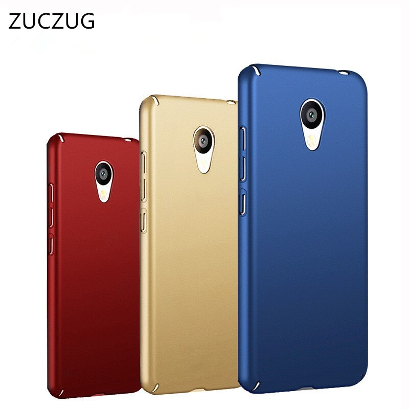 ZUCZUG para Meizu M5 cubierta protectora de plástico Scrub caso duro para Meizu M5S M3X M3E U10 U20 M5S MX6 Pro6s Anti-choque caso