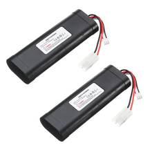 7.4 V 1800 mAh HL-18650-2S Li-PO Batterij voor Heng Long RC HL3818-1 3889-1 3809 1:16 tank speelgoed Upgrade grote capaciteit L6.2-2P