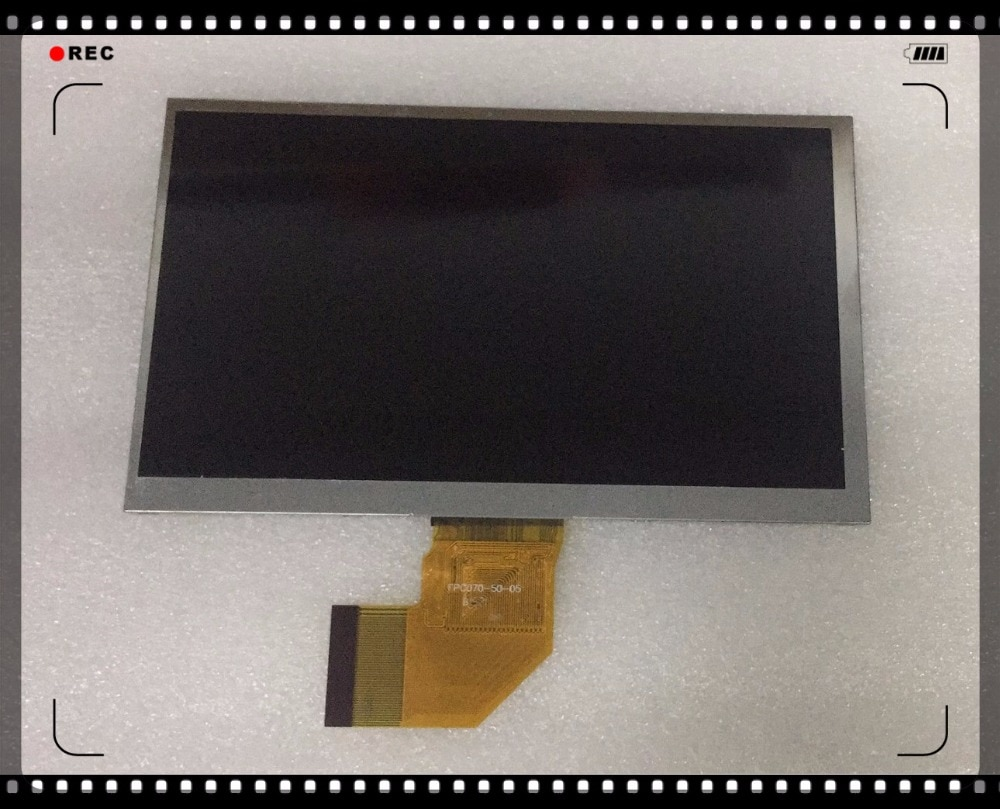 New high quality 7 inch 50pin Alternative compatibility FPC070-50-05 LCD Display screen