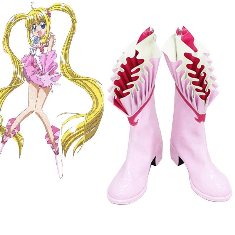 Anime Cosplay zapatos sirena Melody Nanami Ruchia Cosplay botas Zapatos