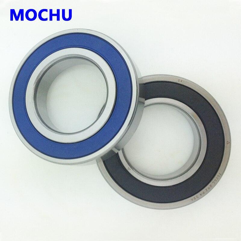 1 par MOCHU 7011 H7011AC 2RZ P4 DB B 55x90x18 rodamientos de...