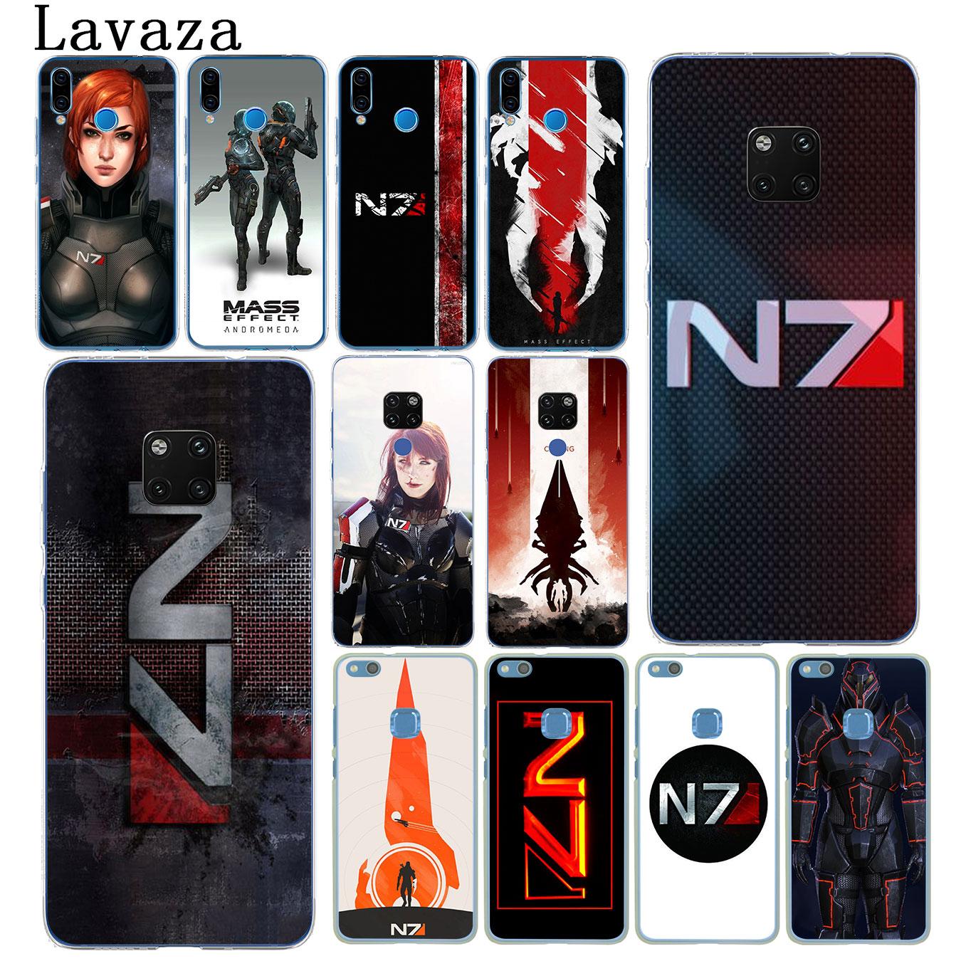 Lavaza N7 masa efecto duro caja del teléfono para Huawei Mate 30 20 Pro 10 Lite Y6 primer Nova 5I 4 3i 3 2i 2 Lite funda
