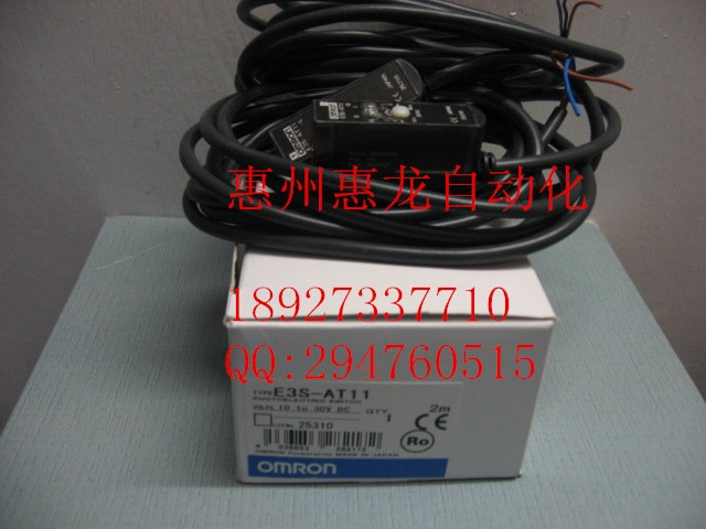 [ذوب] جديد الأصلي omron اومرون الكهروضوئي التبديل E3R-5E4 E3S-AT11 2 متر 2 متر