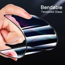 Nouvelle Céramique De Protection Verre Pour iPhone 6 6s 7 8 plus XR X XS Max Plein Écran Protecteur Protecteur Pliable En Verre Trempé