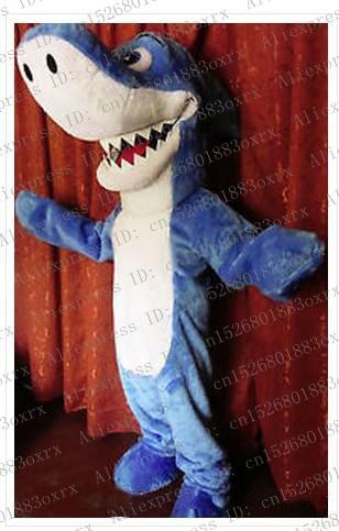 Disfraz de personaje de dibujos para adultos con diseño de ballena asesina y tiburón azul, producto Launch Expo Fair Motexha Spoga zx877