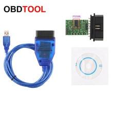 Хороший чип FT232RL, VAG USB интерфейс для автомобилей Audi и т. Д., VAG OBD OBD2 16 контактный разъем, диагностический кабель OBDII 16 контактный инструмент для сканирования