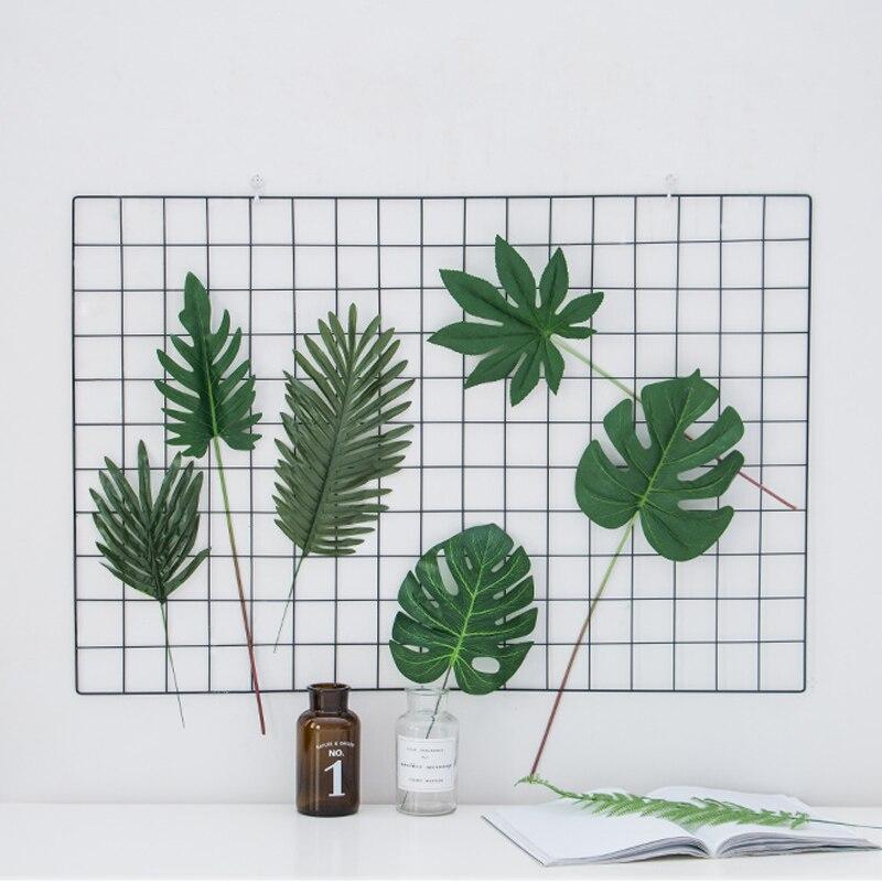 Hoja Artificial de imitación de hojas de palmera tropical para hawaiana Luau decoraciones de fiesta temáticas decoración del jardín del hogar