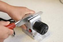 Electric Knife Sharpener 220V 18W Household Portable Quick Professional Knife Sharpener Kitchen Gadgets Supplies Sharpening Tool