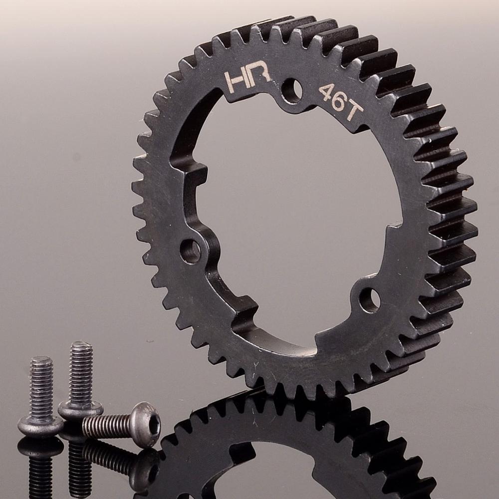 TXM046TS Stahl 46T 1 Mod Gehärtetem Stahl Spur Gear Für RC-Traxxas 1/5 Modell X Maxx X-maxx XO-1