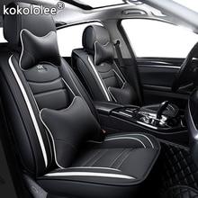 Kokololee skórzane pokrycie siedzenia samochodu dla skoda karoq dodge ram 1500 suzuki ignis citroen c4 grand picasso ford explorer siedzenia samochodowe