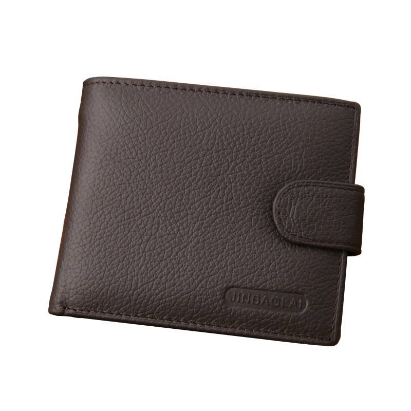 New Arrival Genuine Leather Wallet Men Famous Brand Mens Wallet with Coin Pocket Carteira Masculina