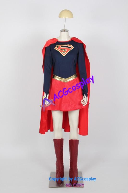 Supergirl Cosplay Costumes super fille de DC comics ACGcosplay