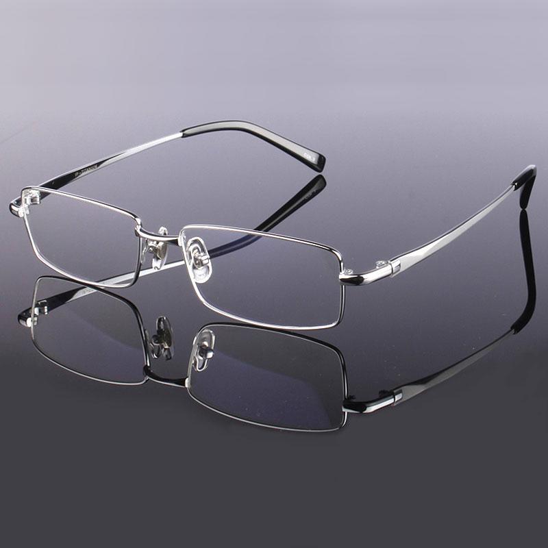 Gafas Hotony de moda de aleación de titanio para hombre, montura de gafas ópticas, gafas graduadas, montura completa para gafas, montura de visión