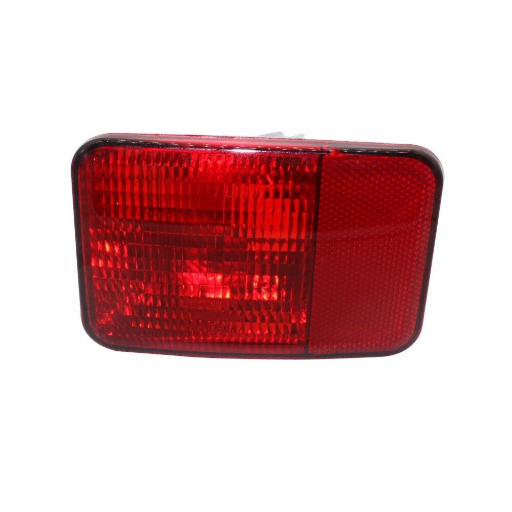 1 pieza, reflector de parachoques trasero, luz antiniebla, lámpara para Jeep Wrangler 2008-15, repuesto de faro antiniebla, lámpara antiniebla sin bombilla derecha