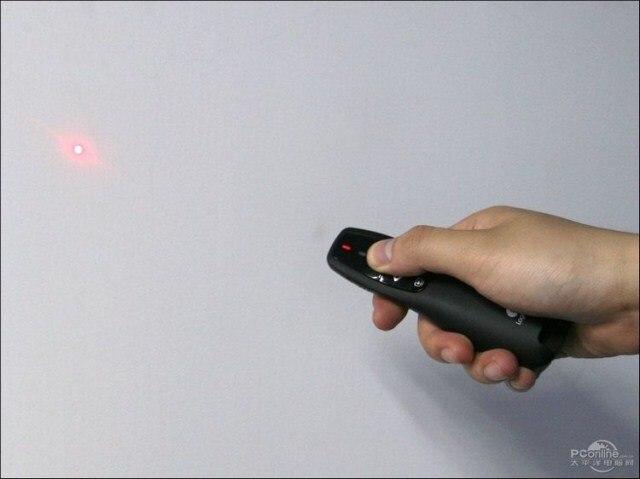Suporte wireless manifestante Multimídia ponteiro eletrônico de controle remoto caneta projeção de slides PPT páginas para logiteh R400