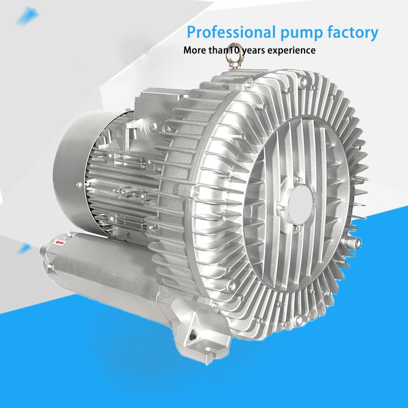 HG-11000 grande 11KW 380V 50 HZ/60 HZ ventilador vórtex centrífugo de aluminio fundido vórtice soplador