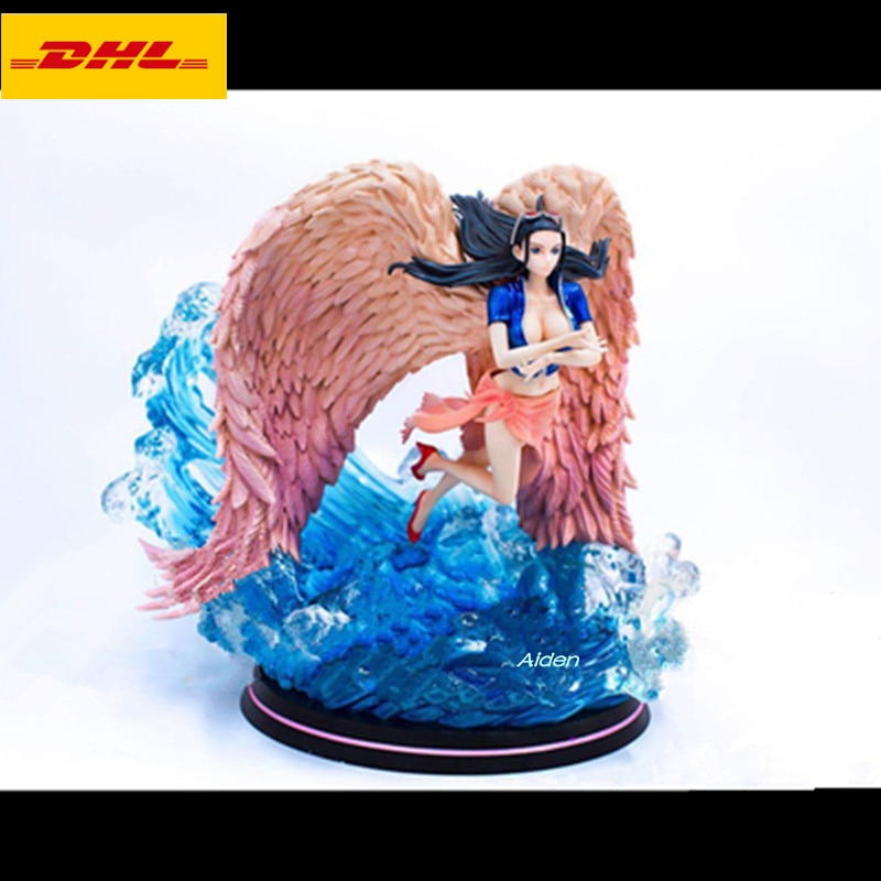 """13 """"anime figuras sexy estátua de uma peça busto nico. robin asa completo-comprimento retrato miss. allsunday gk figura de ação brinquedo 33 cm b1510"""