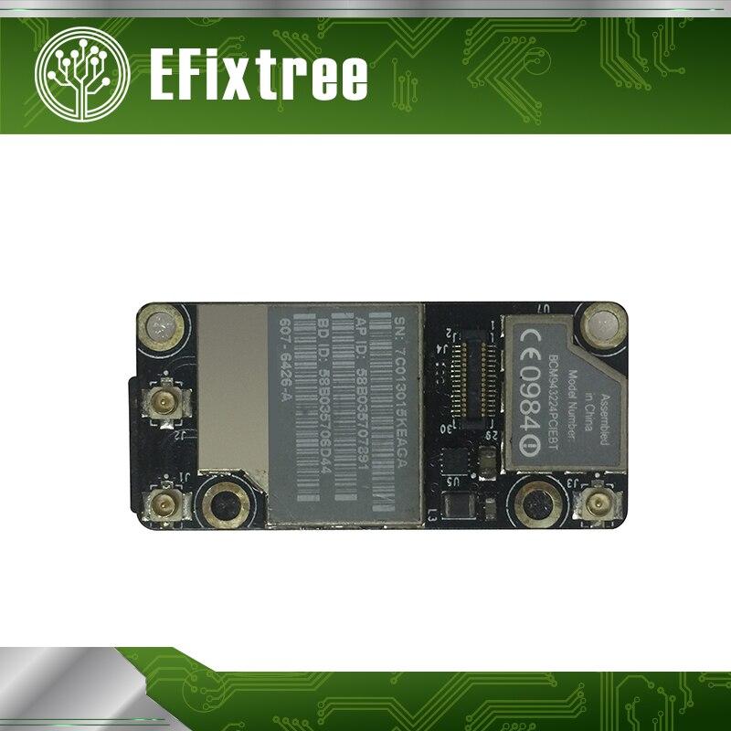 Tarjeta WLAN Original para MacBook A1342 A1286 A1278 laptop 607-7156-A tarjeta inalámbrica WLAN + Bluetooth BCM943224PCIEBT
