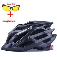 Moon Top Grade 27 Air Vents Integrally-molded Cycling Helmet Ultralight Bicycle helmet Highway Road Mountain Bike Helmet Moon