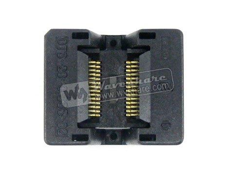 SSOP28 TSSOP28 OTS-28-0.635-02 Enplas IC Test Burn-in Socket Programming Adapter 0.635mm Pitch 3.94mm Width