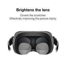 2 pares de película suave de TPU Anti-rayado a prueba de polvo Protector de lente HD película transparente para Oculus Quest/ oculus Rift S/Oculus ir