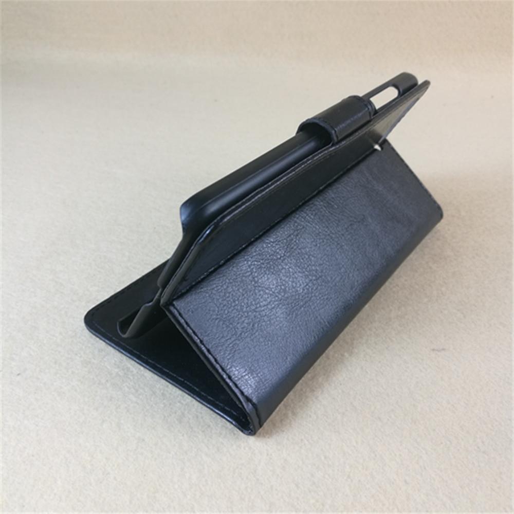 Кожаный чехол книжка Crazy horse с отделениями для кредитных карт и функцией