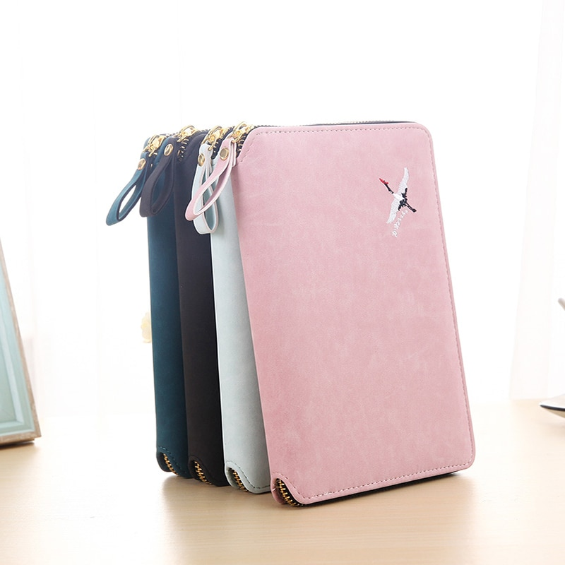 48k manual de cremallera bordado A6 libro de hoja suelta desensamblable creativo Simple cuaderno femenino aceptar bolsa de cremallera