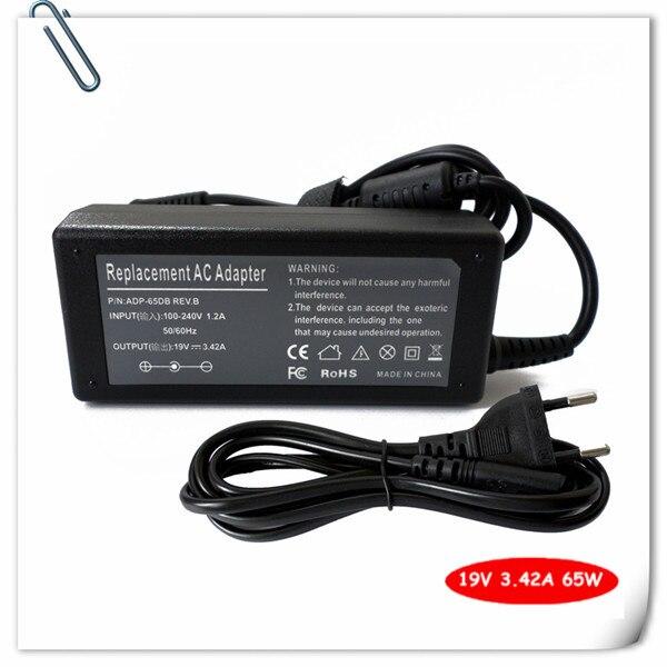 Cable de alimentación para acer Gateway mc7801u ms2274 nv52 nv5213u nv5214u nv54 nv5814u AS5742 AS5742Z portátil cargador/adaptador de CA