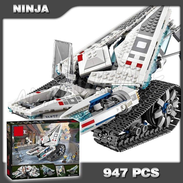 947 pçs nova ninja tanque de gelo máquina de batalha mech walker 10726 modelo blocos de construção adolescentes brinquedos tijolos compatíveis com lago