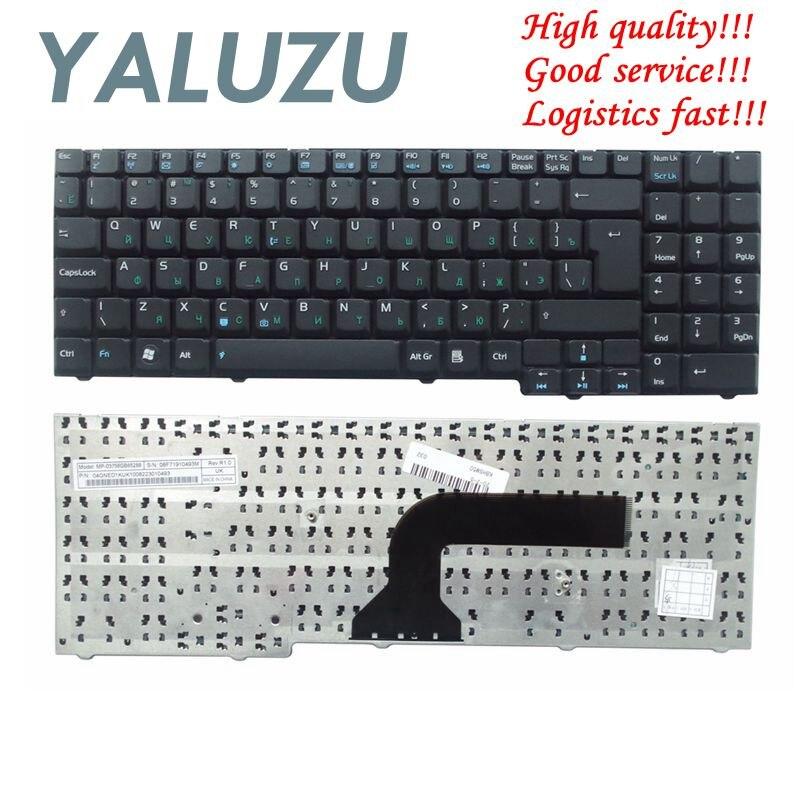 Teclado do laptop russa para ASUS M50 YALUZU F7 G70 M50V X55S X55SV X55SR X55SA X57 M70 G71 G2 G1P X70 X71 G50 G70G G71G Preto RU